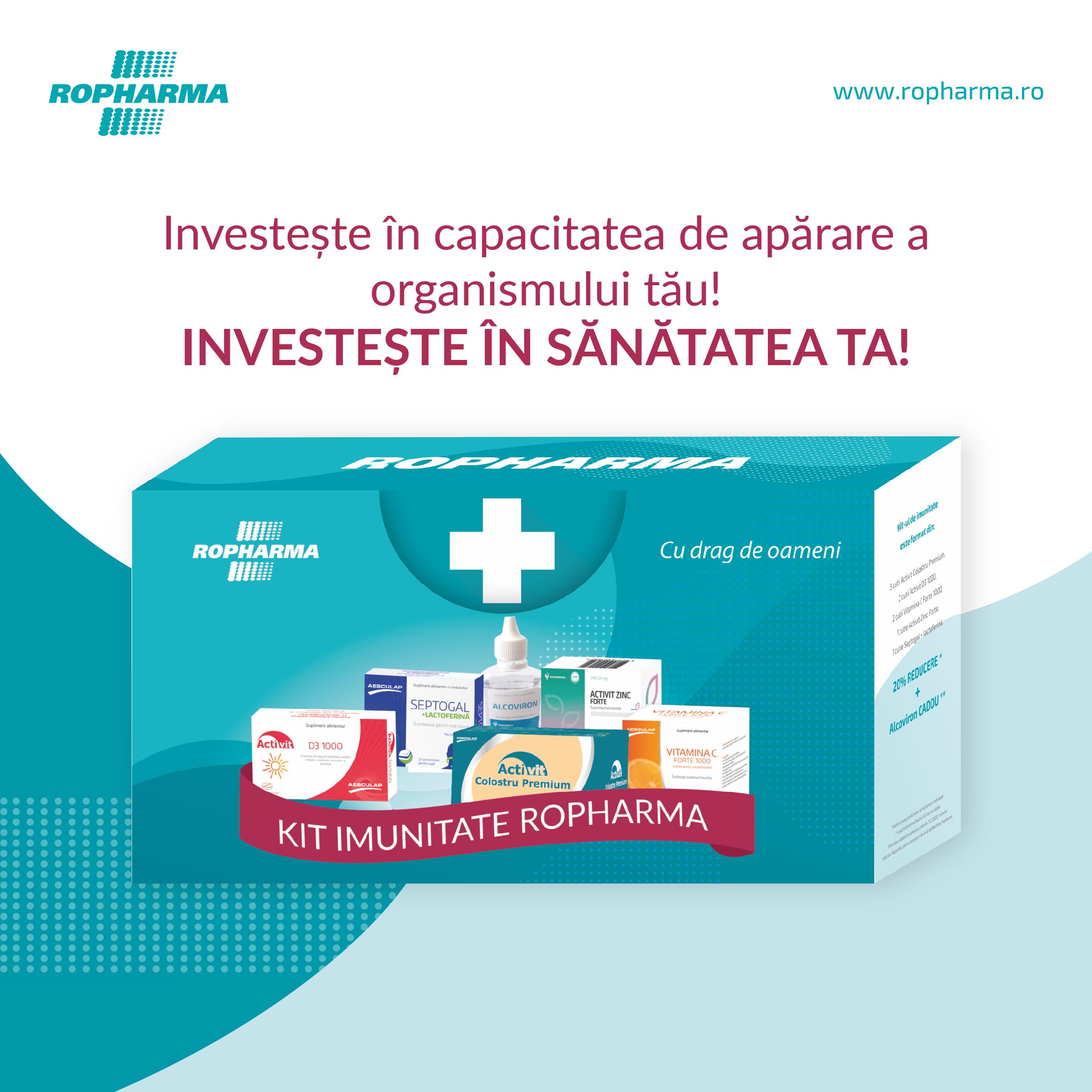 Investește în sănătatea ta!